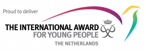 Proud to deliver the International Award for Young People Netherlands