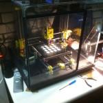 RepRap Prusa I3 v.v. glazen behuizing